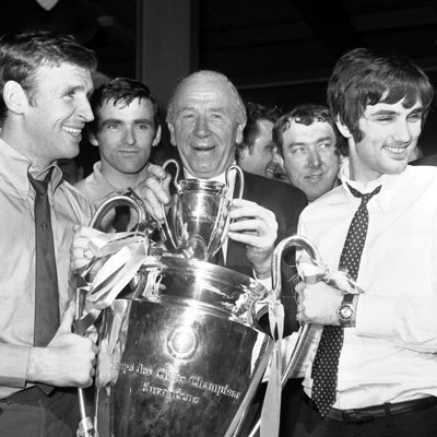 Busby in trionfo nel 1968!