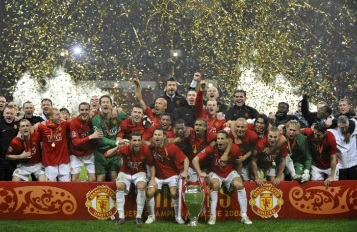 MANCHESTER UNITED CAMPIOND D'EUROPA 2007-2008!!!